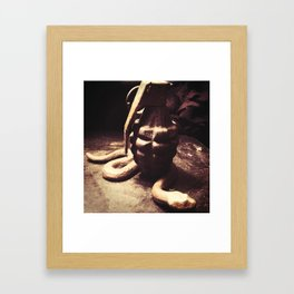 From Beginning to End Framed Art Print
