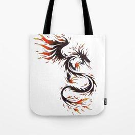 Spirit of Fire Dragon Tote Bag