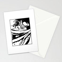 Misshaku Kongō: Buddhist Temple Guardian (Black & White) Stationery Cards