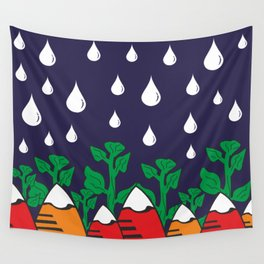 Rainy Day In Mountains #society6 #decor #buyart #artprint Wall Tapestry