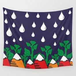 Rainy Day In Mountains #society6 #decor #buyart #artprint Wall Tapestry