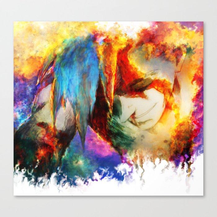 Kamina Canvas Print