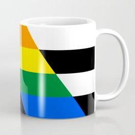 Straight Ally pride flag Coffee Mug