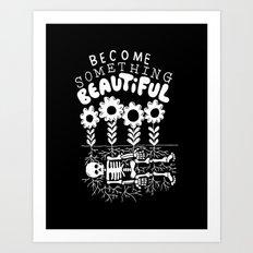 beautiful bones Art Print