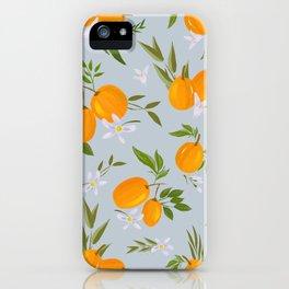 Blue kumquat iPhone Case