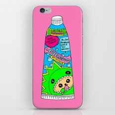 Toothpaste iPhone & iPod Skin