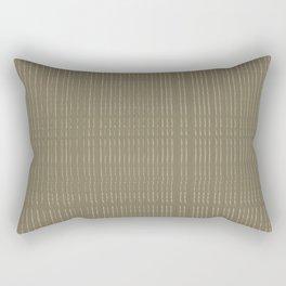 Thin Tonal Lines Rectangular Pillow