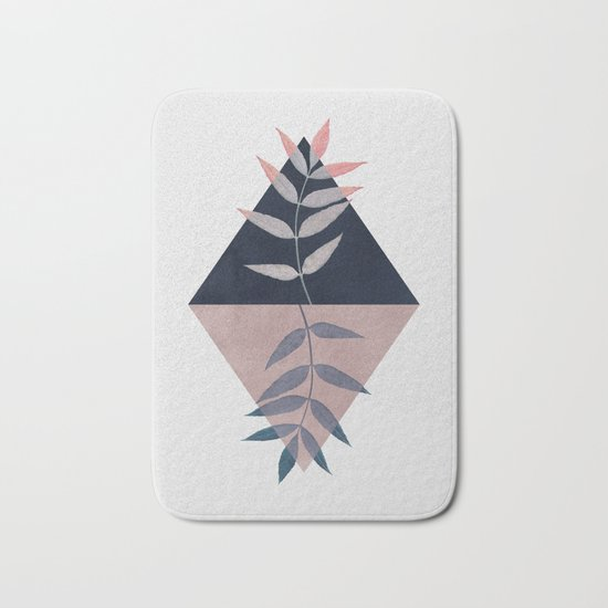 Geometry and Nature 3 Bath Mat
