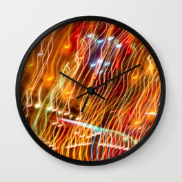 Amusement Theory Wall Clock