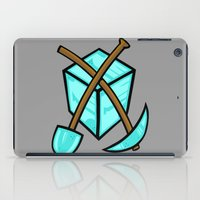 geology iPad Cases featuring It's All About The Diamonds by Artistic Dyslexia