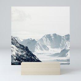 Snow Mountain Mini Art Print