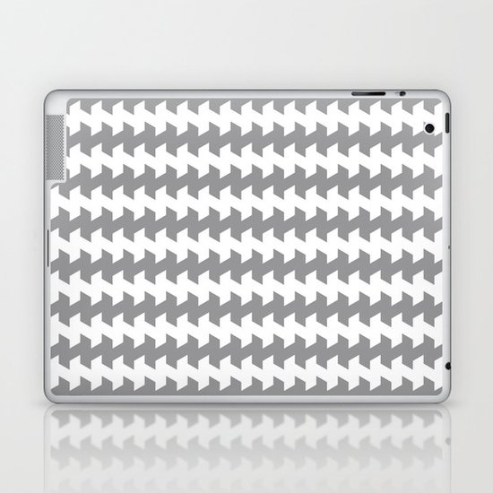 jaggered and staggered in alloy Laptop & iPad Skin