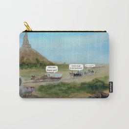 Travels with Kids Oregon Trail Theme Carry-All Pouch