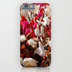Paper flowers iPhone 6s Slim Case