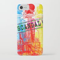 scandal iPhone & iPod Cases featuring Scandal Scandal Scandal by Genco Demirer