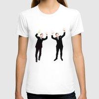 benedict cumberbatch T-shirts featuring Benedict Cumberbatch Oscar Photobomb by Zharaoh