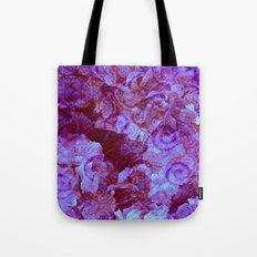 Hydrangea Paisley Abstract Tote Bag
