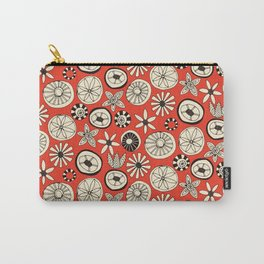 summer flowers fire Carry-All Pouch