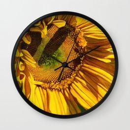 Sunflower 1 Wall Clock