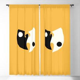 Wu Tang Yin Yang Blackout Curtain