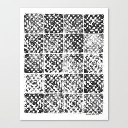 Crochet Impressions: GRANNY Canvas Print