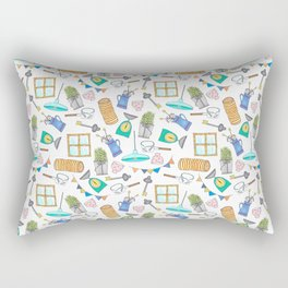 Vintage Mania Rectangular Pillow