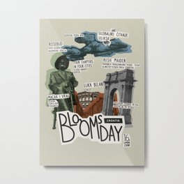 Bloomsday 2013 Metal Print