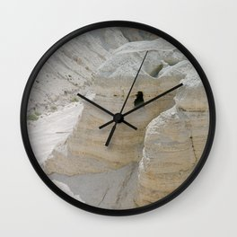Qumran and the Dead Sea Scrolls - Holy Land Fine Art Film Photography Wall Clock