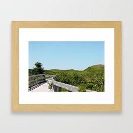 boadwalk Framed Art Print