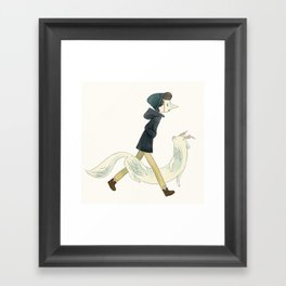 Nega Framed Art Print