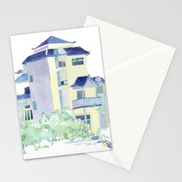 Water Color Home Stationery Cards