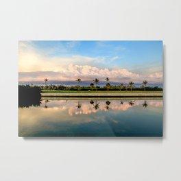 Cotton Candy Skies of Captiva Island Metal Print