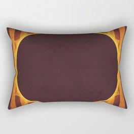 Sun - Solar Eclipse Rectangular Pillow