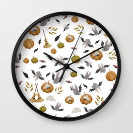 Mouse Halloween Wall Clock