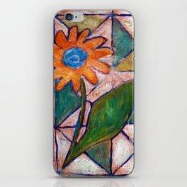 Rustic Flower iPhone Skin