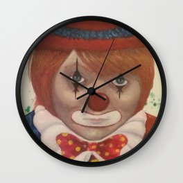 clown boy Wall Clock