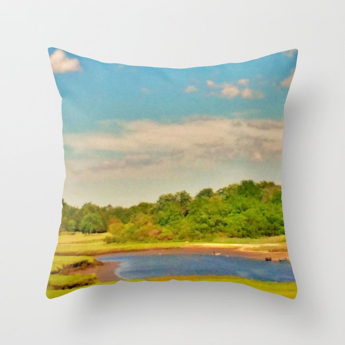 Picture Postcard Perfect Throw Pillow