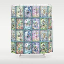 Many Fairies Molly Harrison Fantasy Art Shower Curtain