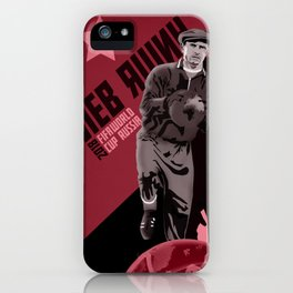 Lev Yashin - the greatest goalkeeper in the history of the game iPhone Case