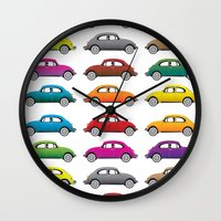 bugs Wall Clocks featuring Bugs!! by Cloz000