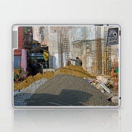 CONSTRUCTION SITE POKHARA NEPAL Laptop & iPad Skin
