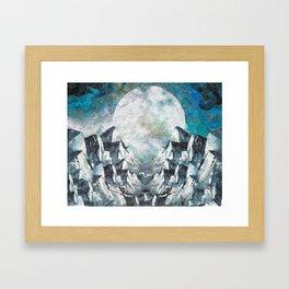 Silent Mountains Framed Art Print