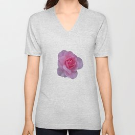 October Rose Unisex V-Neck