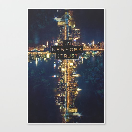 In New York I Trust Canvas Print