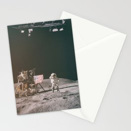 Moon Landing - Stanley Kubrick outtakes Stationery Cards