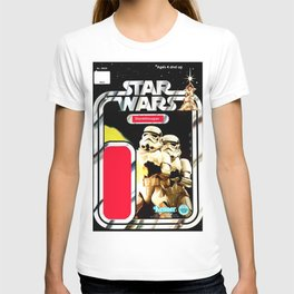 Stormtrooper Vintage Action Figure Card T-shirt