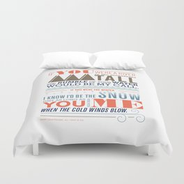 Large – All I Want Is You Duvet Cover