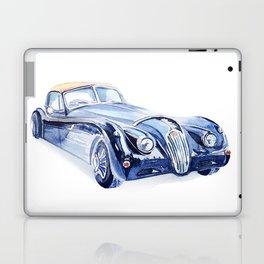 Watercolor Retro car Laptop & iPad Skin