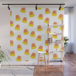 Candy Corn Mania Wall Mural