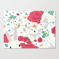 easter Canvas Prints featuring Easter by Devin McGrath